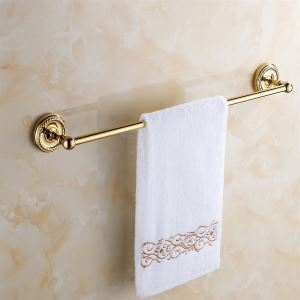 Ti-PVD Solid Brass 24-Inch Towel Bar