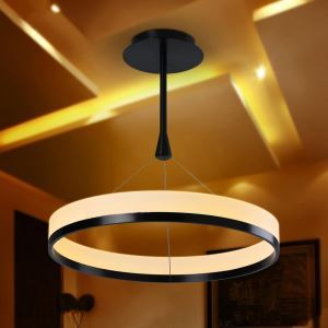 Modern Simple LED Pendant Light Acrylic Mini light Circular ceiling lights