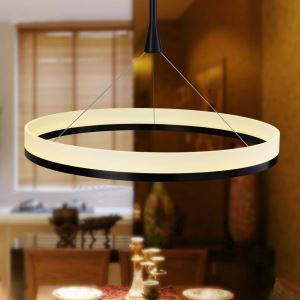 Modern Simple LED Pendant Light Acrylic Mini light LED Circular ceiling lights