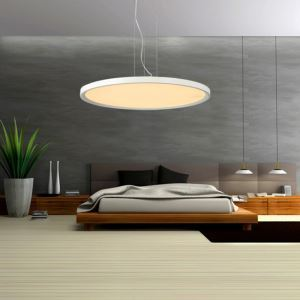 Modern Simple LED Pendant Light Acrylic Light LED Circular Droplight Energy Saving