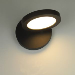 Modern LED Wrought Iron 350 °Rotating Wall Light Acrylic Shade
