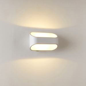 1 Light Modern Simple Fashion LED Wall Light Flat White