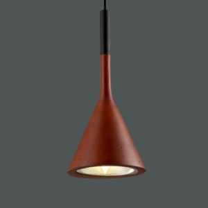 American Country Spray-painted Craftsmanship Pendant Light 1 Light Red White Grey Black Chandelier