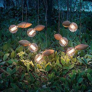 Simple Vintage Unique Solid Wood Pendant Light 1 Light Burlywood
