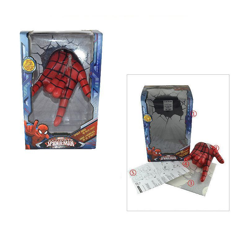 Lighting - Wall Lights - Marvel 3D Wall Nightlight - Spiderman Hand