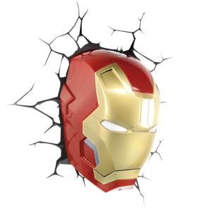 Contemporary Simple Fashion LED 3D Creative Iron Man Wall Light