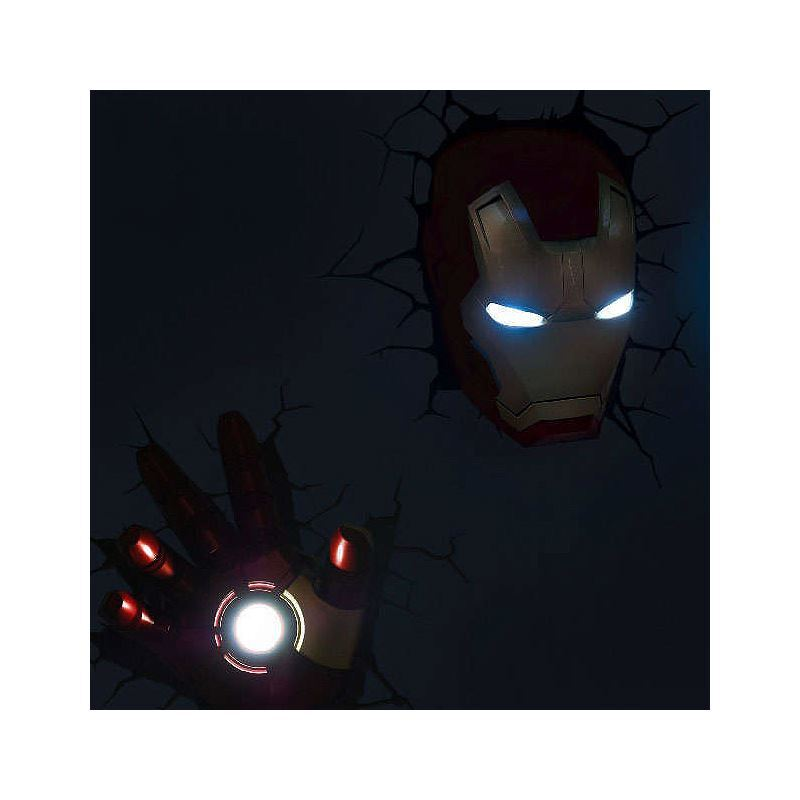 Lighting - Wall Lights - Contemporary Simple Fashion LED 3D Creative Iron Man Wall Light