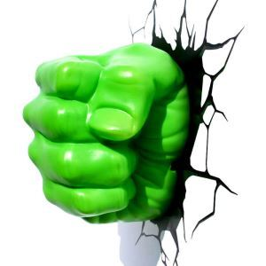 Contemporary Simple Fashion LED 3D Creative Hulk's Fist Wall Light