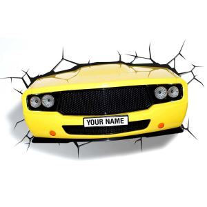 Contemporary Simple Fashion LED 3D Creative Bumblebee Truck Wall Light