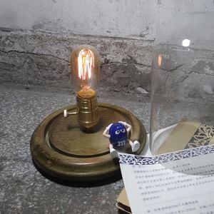 Modern Simple Fashion Transparent Glass Table Lamp 1 Light