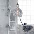 Show details for (In Stock)Mouth-Blown Glass Pendant Light Modern Minimalist Pendant Light with 1 Light Dining Room Living Room Bedroom Ceiling Lights(Enbrace Me)