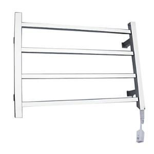 40W Elegance Wall Mount Square Pipe Towel warmer Drying Rack