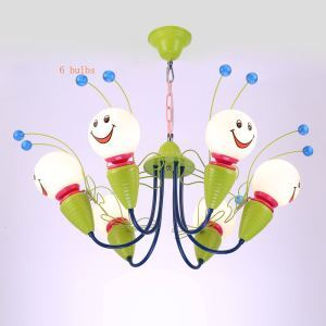 Modern Fashion Cartoon Little Bee LED Pendant Light