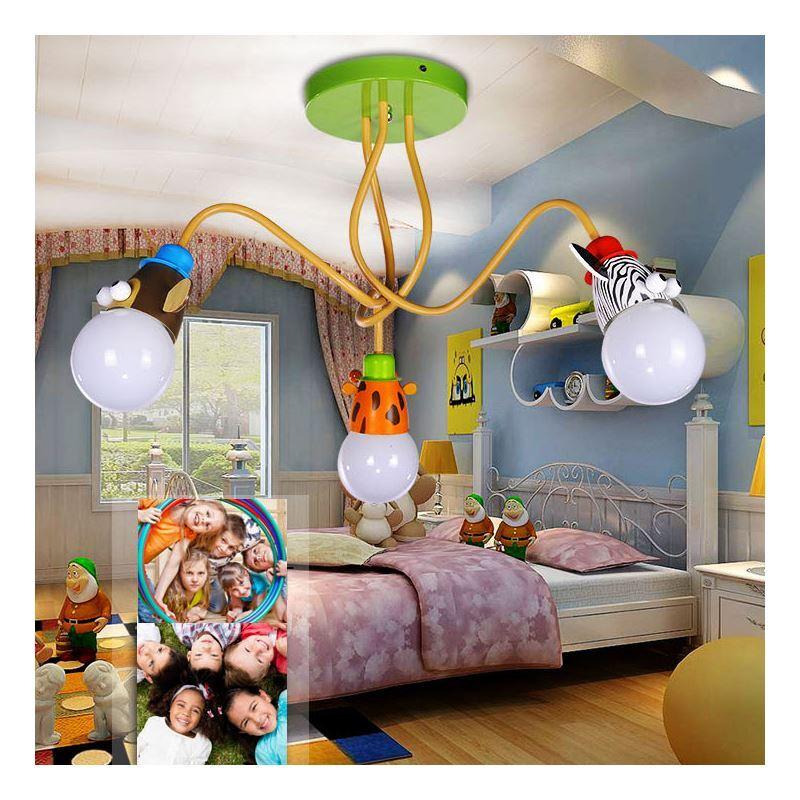 kids room ceiling lighting. modren room lighting  kids room modern fashion cartoon little animals flush  mount ceiling light 3 lights on