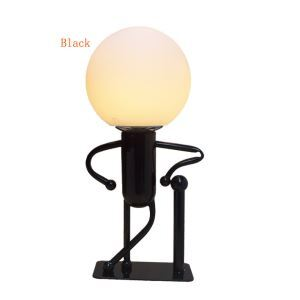 Modern Fashion Cartoon LED Creative Energy Saving Little Man Table Lamp 1 Light Energy Saving