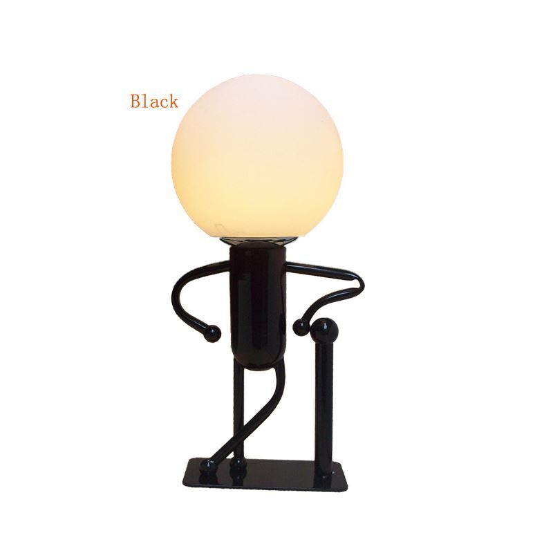 Modern Fashion Cartoon LED Creative Energy Saving Little Man Table Lamp 1 Light