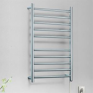 (In Stock) Contemporary Stainless Steel Mirror Polished Towel Warmer 90w