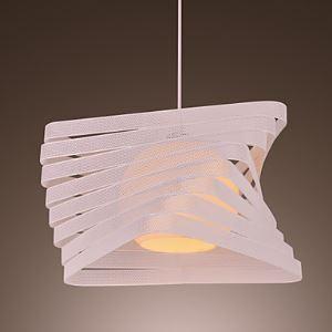 Modern Creative 1 Light Pendant with Artistic Shade