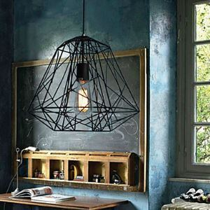 Hive Pendant1 Light Creative Black Chandelier Iron Painting
