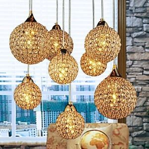 Golden Chandeliers with 8 Light  Use for  Living Room