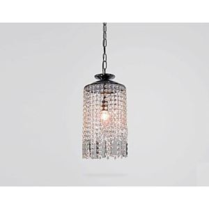 Crystal Pendant Lights  Modern  Contemporary Living Room Metal