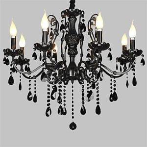 Crystal Chandelier with 8 Lights