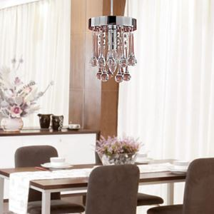 40W Modern Crystal Pendant Light