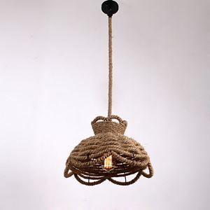 Pendant Lights Mini Style Modern Contemporary Country Rope Lighting
