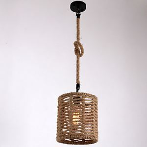 1 Light Pendant Lights Mini Style Modern Contemporary Country Rope