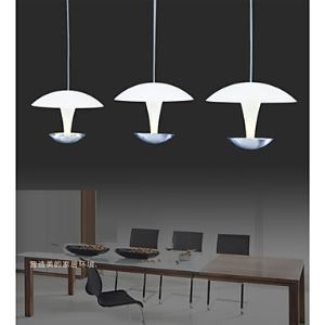 Pendant Lights 3 LED Lights Modern Contemporary Living Room Bedroom Dining Room Lighting Ideas Study Room Kids Room Metal and Acylic Energy Saving