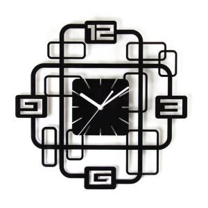 Creative Acrylic Digital Mute Non-ticking Wall Clock