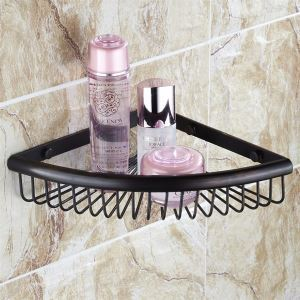 Oil Rubbed Bronze Triangular Soap Holder