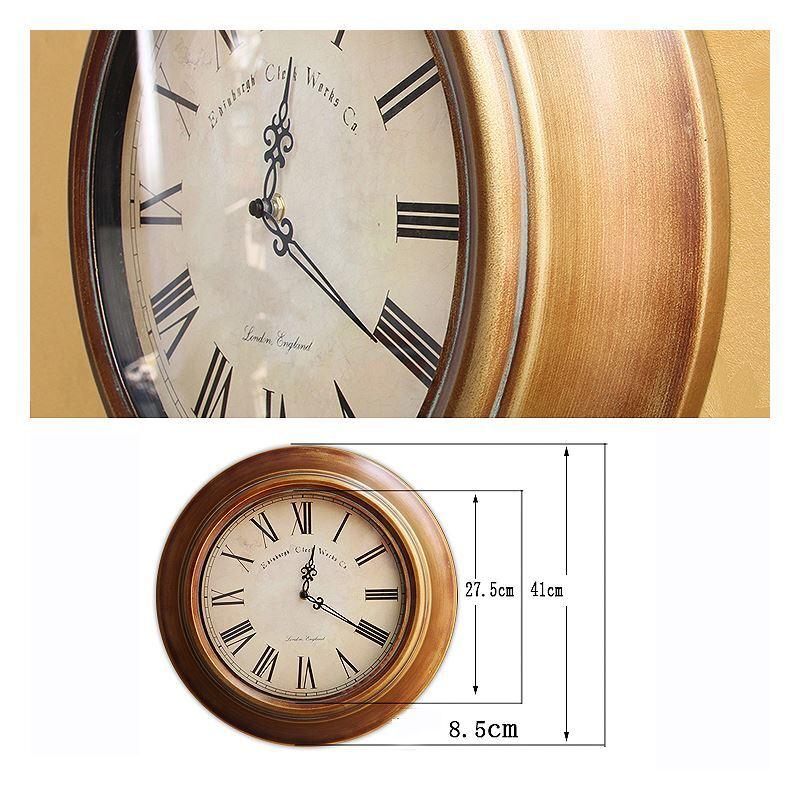 Home Decor Decorative Clocks European Style Wall Clock