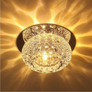 Modern Crystal Flush Mount New Style Ceiling Lamp
