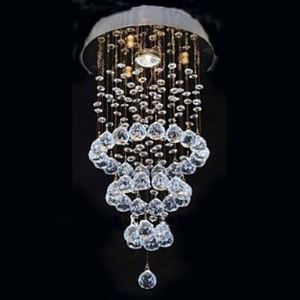 K9 Crystal Cycle Design Chandelier With 1 Light
