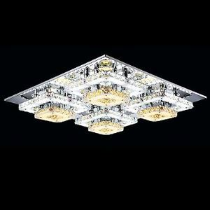 Ceiling Lamps , 4 Light , Simple Modern Crystal MS-86350