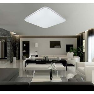 18W Flush Mounte LED Light Modern White Acrylic