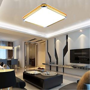 16W NEW Flush Mounte LED Light Luxury Modern Acrylic with Light Ajustable Golden Or Silver Can choose Energy Saving