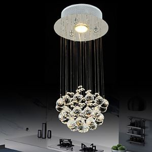 Flush Mount GU10 LED Modern   4W  Contemporary Living Room  Bedroom  Dining Room  Kitchen  Hallway Metal
