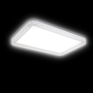Flush Mount LED No Polar Light with Remote Control Modern Contemporary Living Room Bedroom Dining Room Office PVC Energy Saving