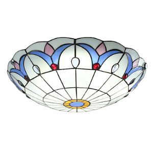 The Diameter of 50Cm Ceiling Lamp Tiffany Lamp European LED Bedroom Garden Lighting Lamps