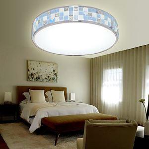 Flush Mount LED Modern  Contemporary Living Room  Bedroom  Dining Room  Study Room  Office Metal