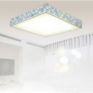 Flush Mount LED Modern  Contemporary Living Room  Bedroom  Dining Room  Study Room  Office Metal