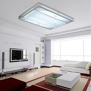 Flush Mount LED Modern Contemporary Living Room Bedroom Dining Room Study Room Office Metal Energy Saving