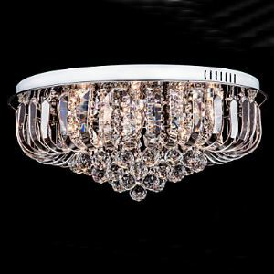 Flush Mount Crystal Traditional  Classic Living Room  Bedroom  Kids Room  Entry  Hallway Metal
