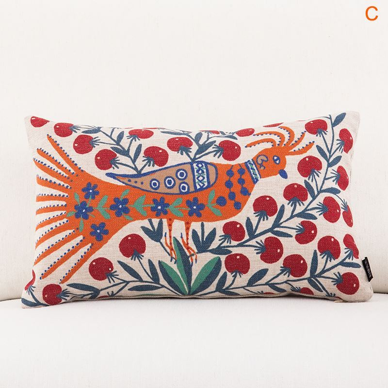 Gifts - Christmas Supplies - Modern Simple Ukraine Masterpiece Sofa Office Linen Cushion Cover ...