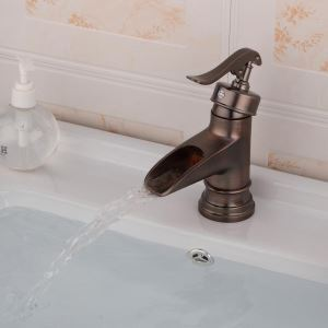 Antique Brush Single Handle Sink Faucet