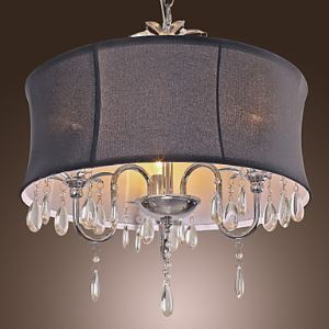 Crystal Chandeliers Modern Contemporary Drum Living Room Dining Room Lighting Ideas Bedroom Metal Ceiling Lights