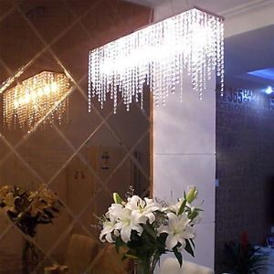 Transparent K9 Crystal Chandelier Ceiling Lights