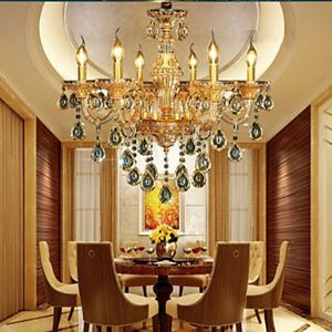 Ceiling Lights Chandeliers Crystal  LED Modern  Contemporary Living Room  Bedroom  Dining Room Lighting Ideas  Study Room  Office Glass